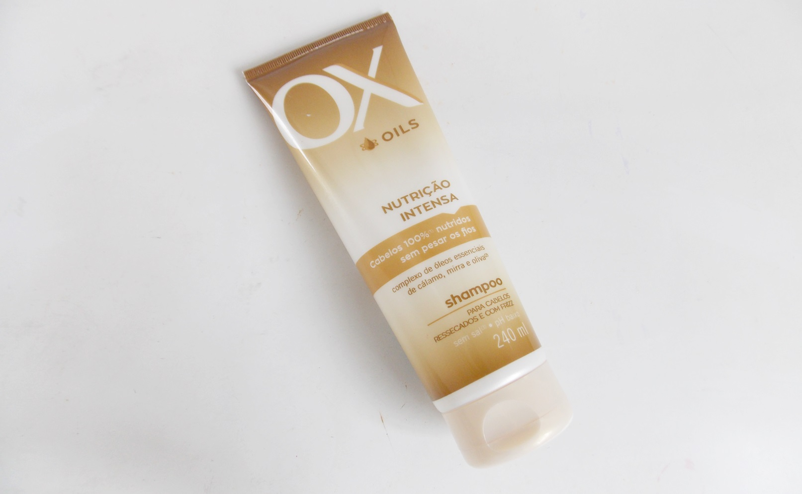ox nutrição intensa shampoo