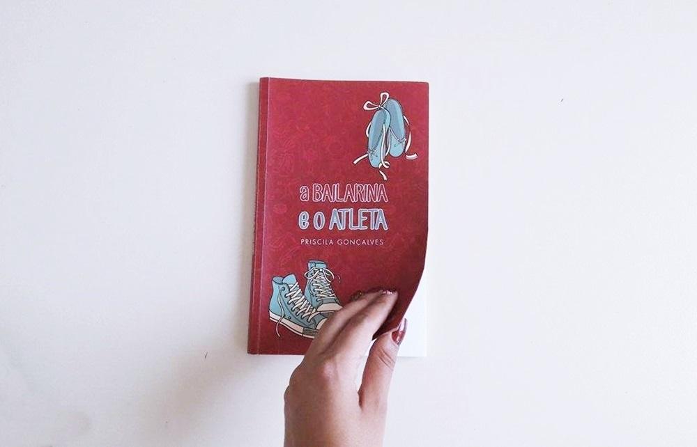 Livro  a Bailarina e o Atleta