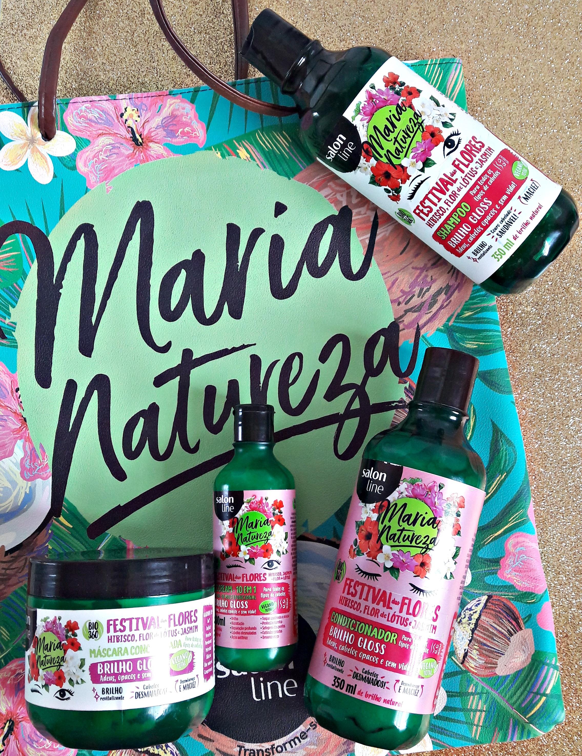 Maria Natureza Festival das Flores - Salon Line Resenha