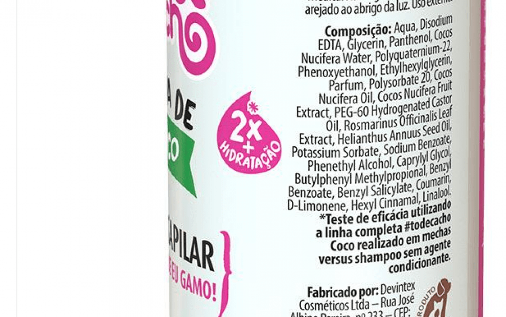 Spray Capilar hidratante Água de coco Salon Line Resenha