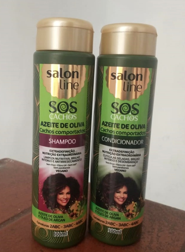 Azeite de Oliva Salon Line shampoo e condicionador Resenha