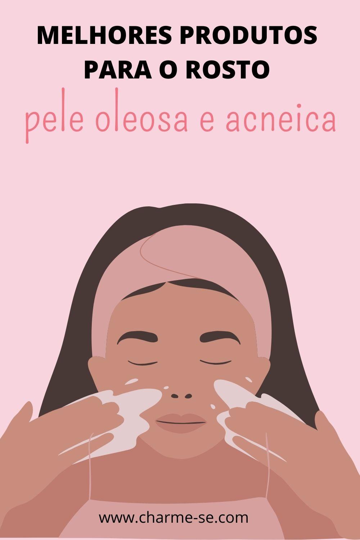 pele oleosa e acneica